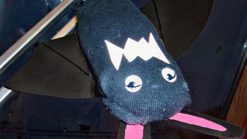 Fledermaus Aus Socke Basteln Mäusenews Mäusenews